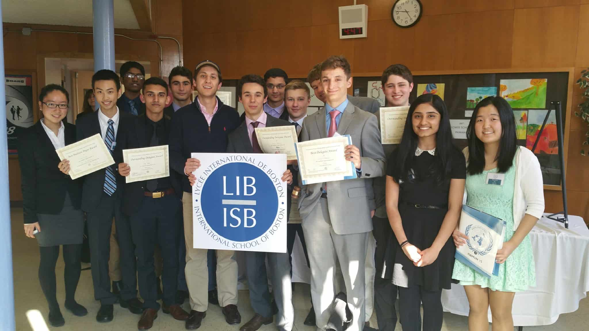 Building a Winning Model UN Team at Lexington High School