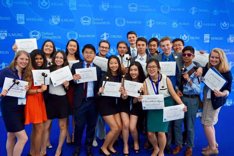 Cultivating a Competitive Model UN Team