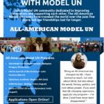 Call for All-American Model UN Applications