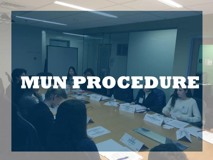 Free Model UN Procedure Course Live!