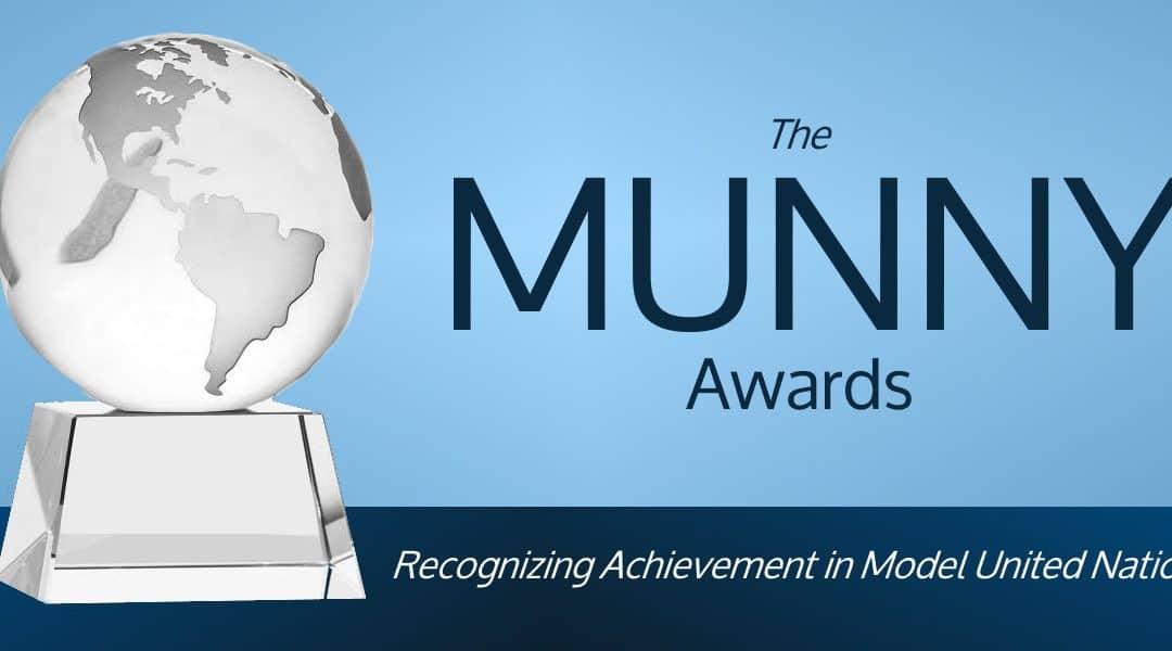 Introducing the MUNNYs, Model UN's New Awards!